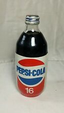 "Pepsi Glass 16 Oz Bottle etched personalized  ""Old man Stone""  with Foam Label"