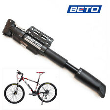 BETO CLD-029G Bike Bicycle Tire Inflator Air Pump Double Cylinder Pressure Gauge
