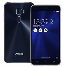 "ASUS ZenFone 3 64GB ZE520KL Black (Factory Unlocked) 5.2"" HD 16MP Dual Sim"