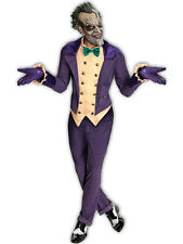 Deluxe adulte sous licence Batman Le Joker COSTUME ROBE FANTAISIE HOMME Halloween + Masque