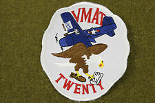 14255) Patch VMAT-20 Marine Corps Fighter Squadron USMC Badge Military