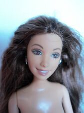 Mattel Barbie doll friend SUMMER with tattoo and flat beachy painted toes feet