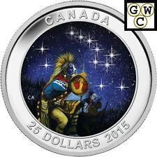 2015 The Quest-Star Charts Glowing Colorized $25 Silver Coin 1oz .9999 (14035)