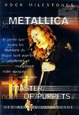 BRAND NEW DVD // ROCK MILESTONES, METALLICA // MASTER OF PUPPETS // FRENCH COVER