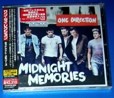 ONE DIRECTION, Midnight Memories - CD w/ 3 extra tracks, JAPAN, obi strip,SEALED