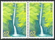 Japan 1992 Waterfall/Trees/Forest/Nature 2 x 1v bklt pr (n35882)