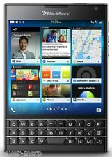 "BlackBerry Passport Black SQW100-1 (FACTORY UNLOCKED) 4.5"" ,32GB ,3GB RAM ,13MP"