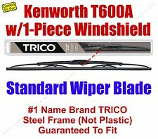 Wiper Blade 1pk - fits 2007 Kenworth T600A w/1-Piece Windshield - 30180