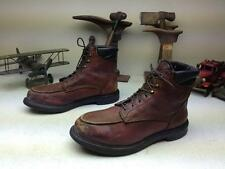 OXBLOOD RED WING 202 LEATHER ENGINEER LACE UP PACKER WORK CHORE BOOTS 11.5 EE