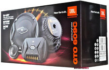 "JBL GTO609C 6.5"" 2-Way GTO Series Component Car Speaker System New"