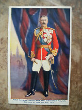 GOOD 1914 TUCK's COLOUR POSTCARD OF FIELD MARSHALL KITCHENER