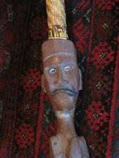 Old Papua New Guinea Carved Snake Walking Stick… beautiful different and unusual