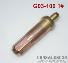 G03-100 1# Oxygen Propane Cutting Welding Torch Tip
