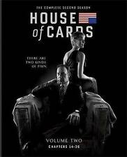 House of Cards: The Complete Second Season (Blu-ray Disc, 2014, 4-Disc Set)