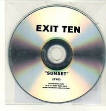 (DC928) Exit Ten, Sunset - 2012 DJ CD