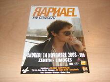 RAPHAEL - FLYER CONCERT NOVEMBRE !!!!!!!!!!!!!!!
