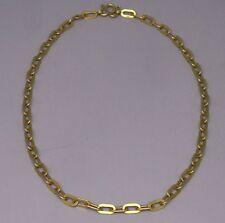 Gorgeous 22K Gold Heavy Men's Necklace Big Links
