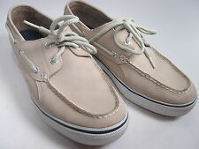 Mens Boat Shoes Suede Leather Size 10 Against The Elements Shark