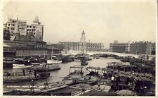 SHANGHAI CHINA HEAD POST OFFICE & SOOCHOW CREEK Photo c1920s