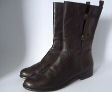 Women's Corso Como Leather Boots Brown 7.5M