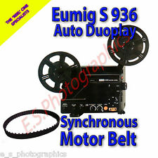 EUMIG S 936 Auto Duoplay 8mm Cine Projector Belt (Main Motor Belt) Toothed