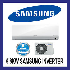 NEW SAMSUNG 6.8KW  INVERTER SPLIT SYSTEM AIR CONDITIONER REVERSE CYCLE AR24KSFTA