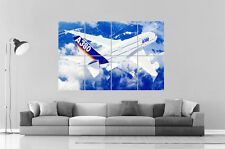 Boeing A380 Avion plane Wall Poster Grand format A0 Large Print