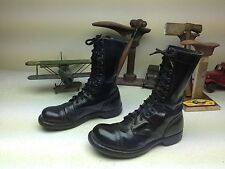 CORCORAN MADE IN USA BLACK PARATROOPER MILITARY LACE UP ARMY COMBAT BOOTS 7.5 E