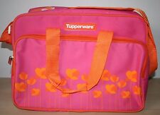 Tupperware Insulates Lunch Picnic Bag w/Shoulder Strap   New
