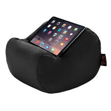 Black Waterproof Tablet Book Lap Rest Cushion Bean Bag Pillow Stand iPad Kindle