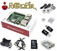 RASPBERRY PI 3 Model B RetroPie Game Console Kit with 2 Controlers BMC2837