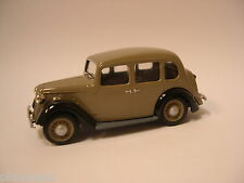 SOMERVILLE MODELS - SMV906 AUSTIN 10 CAMBRIDGE 1936 1:43 SCALE WHITE METAL BUILT