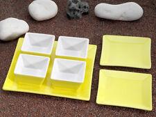 Snackschalen Set Keramik Cerala in gelb von Contento