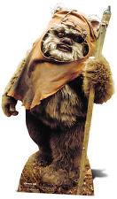 SC-481 Wicket Ewok Star Wars Höhe ca.94cm Pappaufsteller Figur Lebensgroß