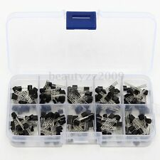 200pcs 10Values x20 TO-92 Transistor Assortment Assorted Kit Box