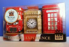 Ahmad Tea London Tea Gift Set London Experience English Afternoon, Breakfast