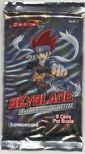 BEYBLADE SERIE 1 BATTLE CARD COLLECTION CARD CARDS BUSTINA SEALED PACK NEW