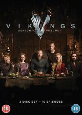 Vikings - Season 4 Part 1 [DVD] *NEU* Series 4 Teil 1 Staffel Vier 10 Episoden