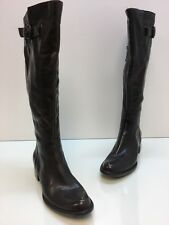 Womens BORN CROWN Brown leather tall boots shoes Size 7M