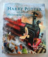 Harry Potter & the Philosopher's Stone. First Illustrated Edition, Bloomsbury JK