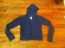 women's size medium Aerie (American Eagle Outfitters) zipper front hoodie Blue
