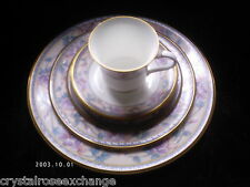 3 Noritake EMBASSY SUITE Place Settings: Plates, Cup -EXCELLENT- FREE SHIPPING!