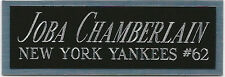 JOBA CHAMBERLAIN NAMEPLATE AUTOGRAPHED Signed Baseball Display CUBE CASE