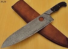 RK-M-24, Damascus Steel  Chef Knife – Bull Horn Handle - Best Quality Guaranteed