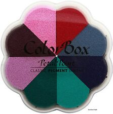 Clearsnap ColorBox PETAL POINT 8-Color Removable Ink Set  Aurora~KNOCKOUT CRAFTS