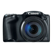 Canon PowerShot SX400 IS 16MP Digital Camera 30x Optical Zoom Black