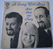 """PETER, PAUL AND MARY - 7""""EP - """"A SONG WILL RISE"""" - 1965 WARNER BROS AUSTRALIA"""