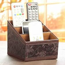 Storage box Remote control controller TV Guide mail CD organizer caddy holder