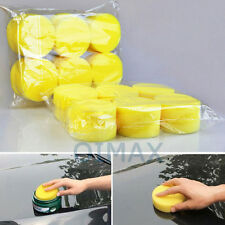 12Pcs  Car Care Foam Waxing Pads Vehicle Sponge  Cleaning Paint Polish
