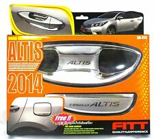FITT CHROME HANDLE HAND BOWL COVER TRIM FOR NEW TOYOTA COROLLA ALTIS 2014 SEDAN